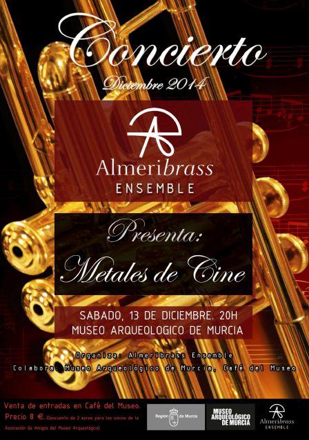 Concierto: Metales de Cine - Que Hacer en Murcia