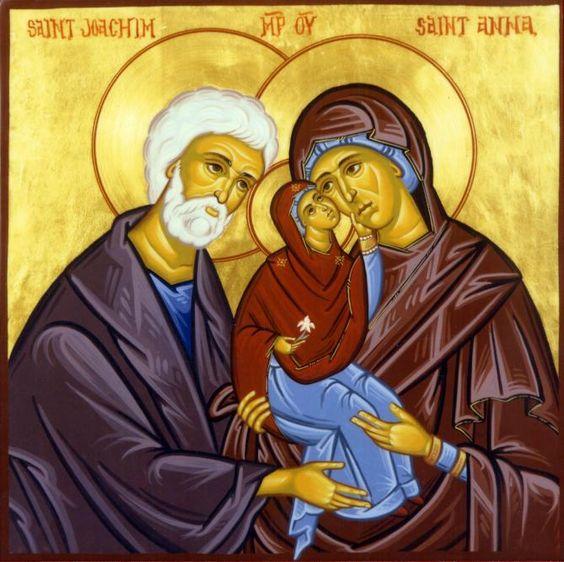 26 juillet - Fête de Sainte Anne et Saint Joachim, parents de la Vierge Marie