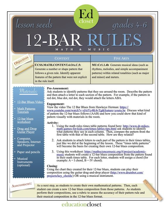 12 bar rules STEAM