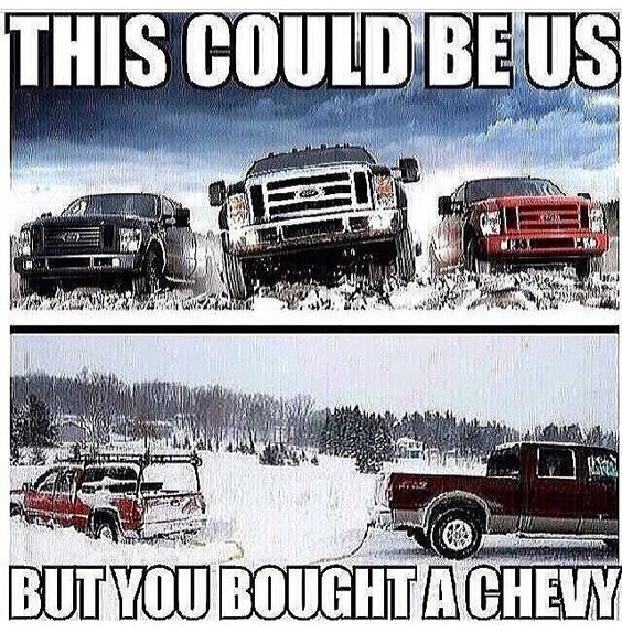 ce4567d16523abcb360466a2906a9d8a chevy jokes car jokes cool ford 2017 lol what can i say i'm a ford man haha check