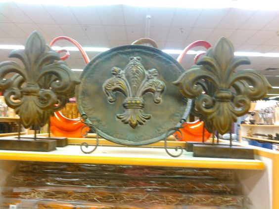 Fleur de lis all 3 for under $50-60!@Orleans furniture in Harvey La.