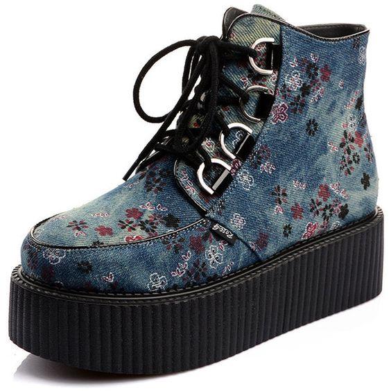 Dizzy Casual Platform Shoes