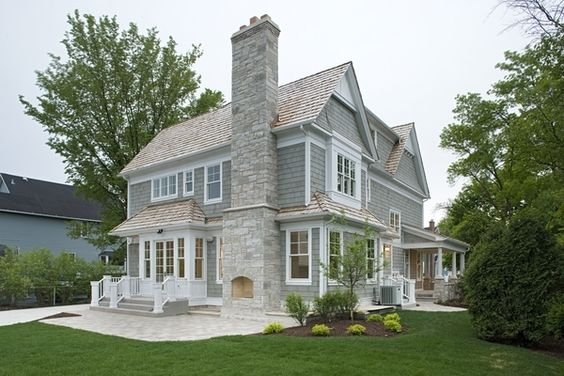 Pinterest the world s catalog of ideas for Rock and cedar homes