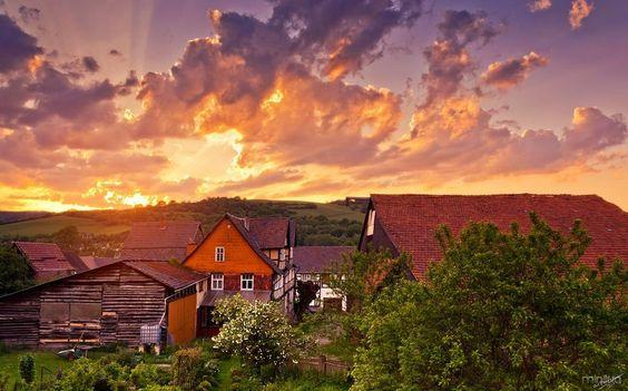 sunset_at_home_by_artmobe-d7iznp2