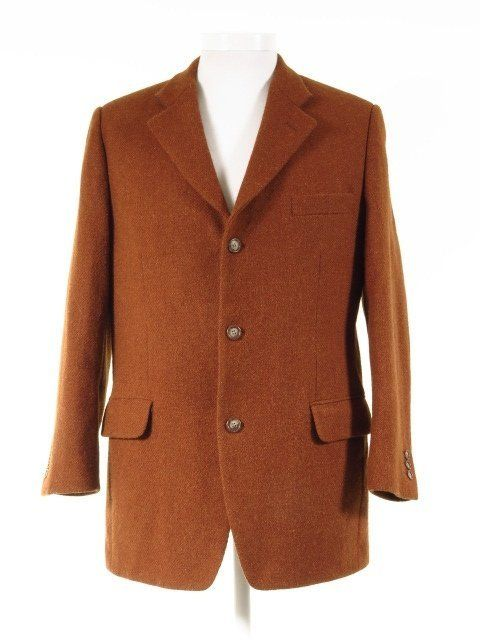 Ginger Harris Tweed Jacket 42s Tweedmans Harris Tweed Jacket Vintage Clothing Men Harris Tweed