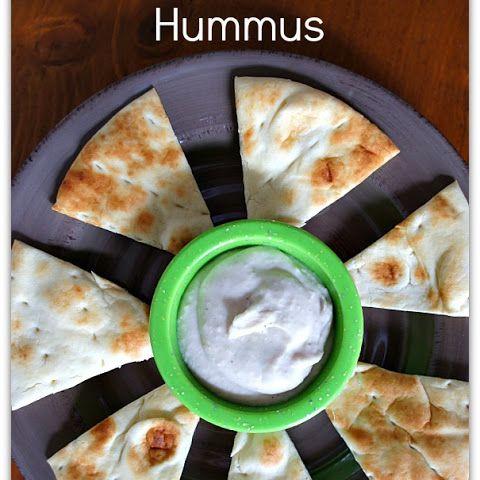 Recipe for Slow Cooker White Bean and Garlic Hummus (Vegan)