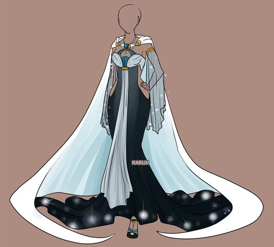 Fashion Anime outfits and Gowns on Pinterest