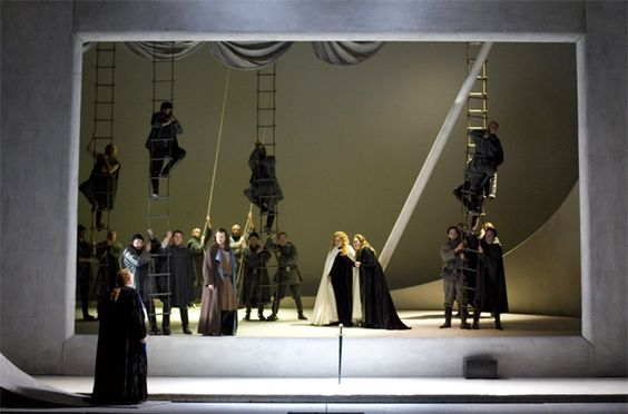 Free live video broadcast: Yannis Kokkos' production of Tristan und Isolde - 30/09/12 - The Wagnerian