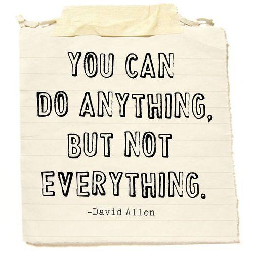 A good reminder for myself everyday. Focus, focus.......focus