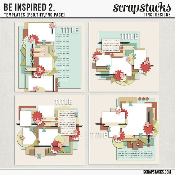 Be inspired 2. templates by Tinci Designs