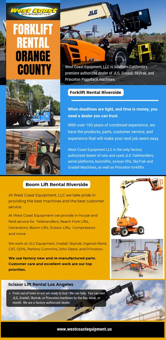 Forklift Rental Orange County
