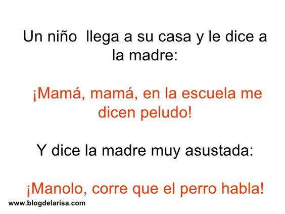 mama mama chistes cortos - Google Search