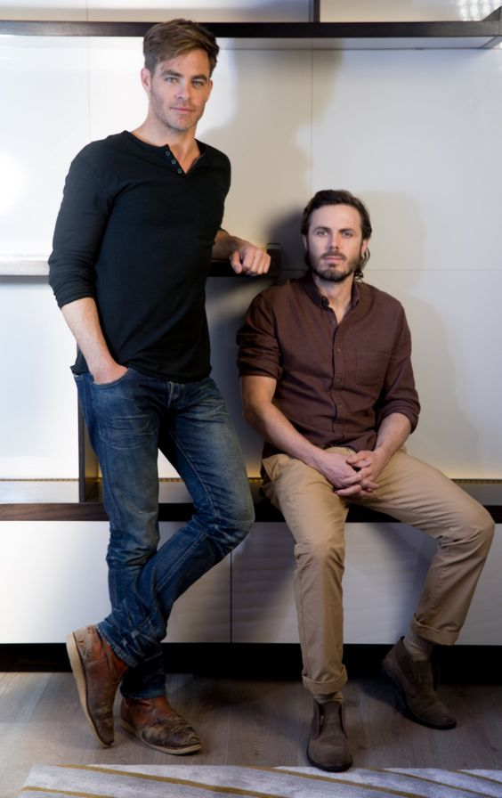 Chris and Casey Affleck