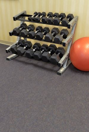 From the large big city gym to your garage gym, these rubber tiles are professional, comfortable, and extremely durable! #Gym #GarageGym #Fitness