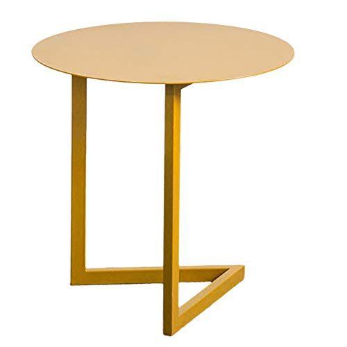 Li Wei Shop Coffee Table Sofa Side Table Round Wrought Iron Mini