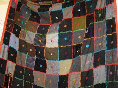 Portuguese quilt check the stiches