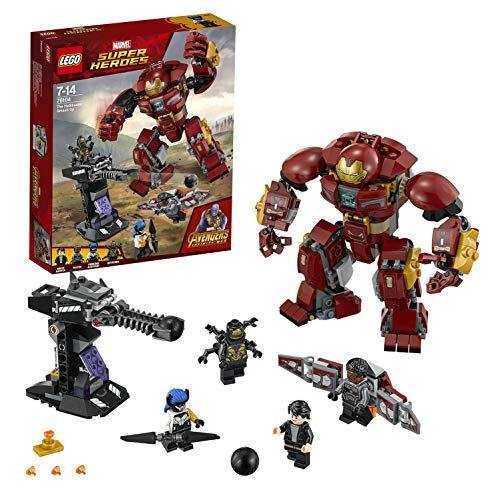 Lego Marvel Avengers Infinity guerre Hulkbuster SMASH-UP 76104