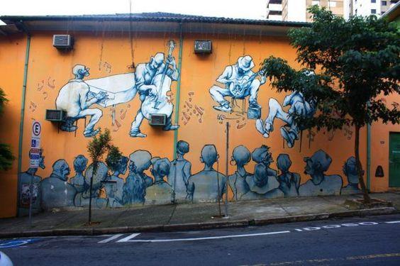 Arte nas ruas