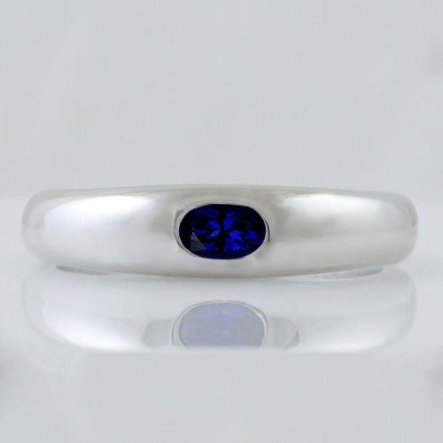 1.42 Ct Round Blue Tanzanite and Diamond 18K Yellow Gold Plated Silver Pendant
