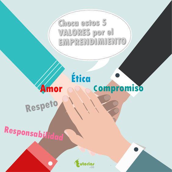 5 valores por el emprendimiento