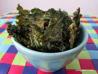 Kale Chips that actually taste good   Living Well Kitchen