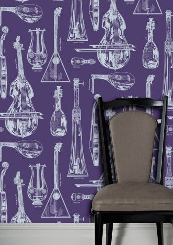 Quartet Wallpaper by Cole & Son - New Contemporary II - Lime Lace £71.95 #chicstyle #wallpaper #designer #1950's