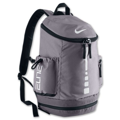 white nike elite backpack
