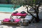 terrasse bohème piscine