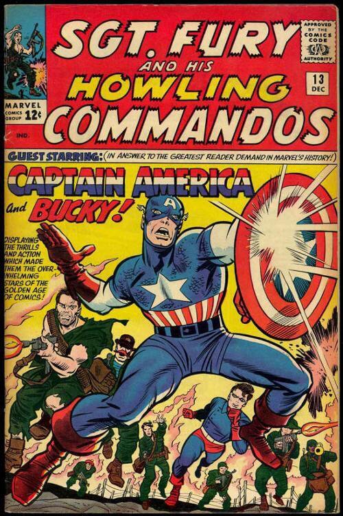 Howling Commandos & Captain America