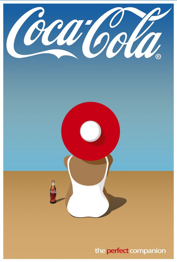 Coca-Cola Ad Indesign/Photoshop project. Inspired by ...