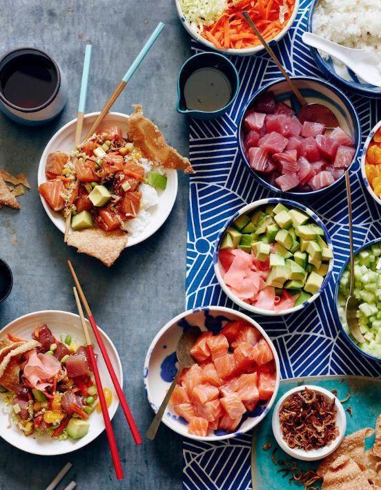 Poke bowl : Le poke bowl, le plat hawaïen à base de poisson cru qui a tout bon. - Elle à Table