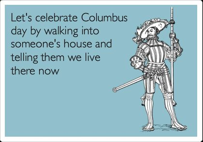 how to celebrate columbus day