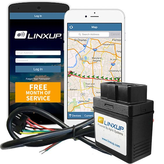 Linxup Wired GPS Vehicle Tracking Device with Free Month of 3G GPS Service