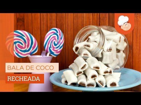 Bala De Coco Recheada Receita Perfeita Com Imagens Balinha