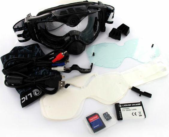 Liquid Image Impact Series 367 - Masque intelligent pour filmer sous l'eau en Full HD !