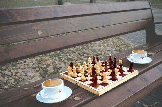 Morning Chess Coffee The Best Time Of The Day