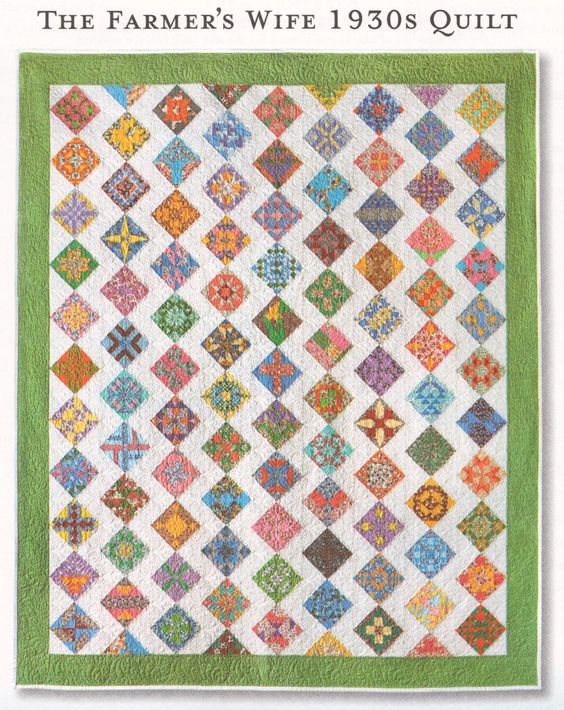 1930s Farmer's Wife Sampler Quilt
