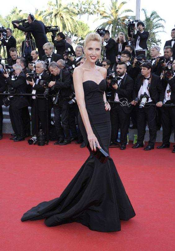 Judit Mascó deslumbra con su look en Cannes #moda #belleza