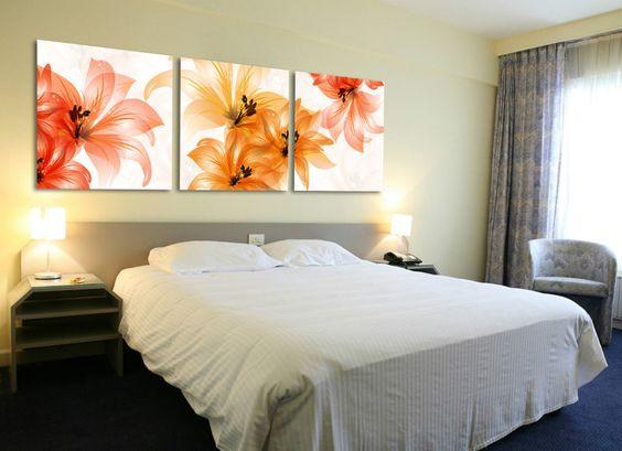 Cuadros para cabecera de cama buscar con google - Cuadros para decoracion ...