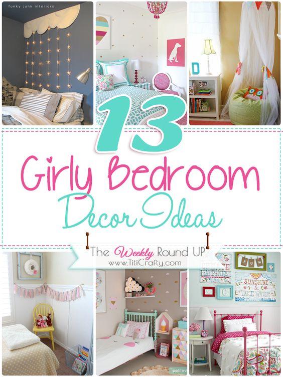 Pinterest the world s catalog of ideas for Girly bedroom designs