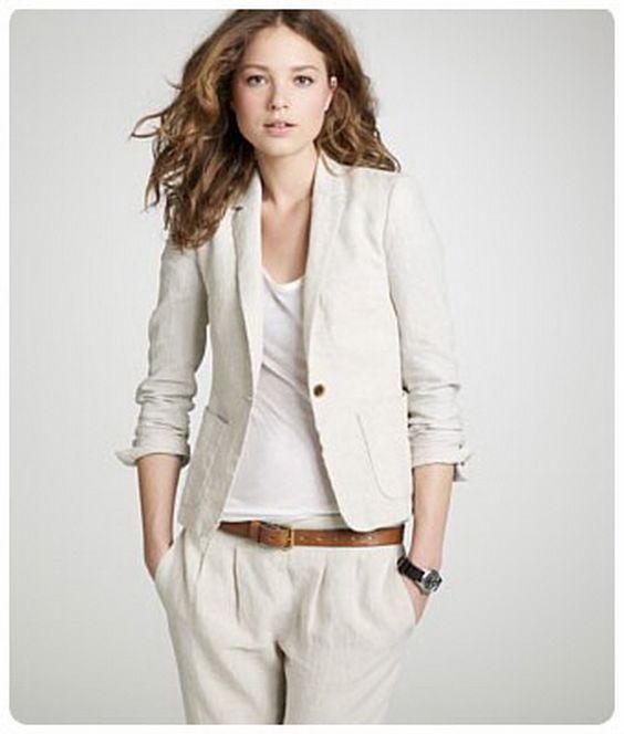 Linen Pants Suits for Women | Linen-suits-for-women_14 | Pinterest ...