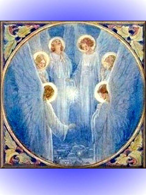 ANGELES ORACIONES Y REFLEXIONES CATÓLICAS: ORACIÓN A LOS ANGELES SERAFINES PARA RECIBIR SUS DONES