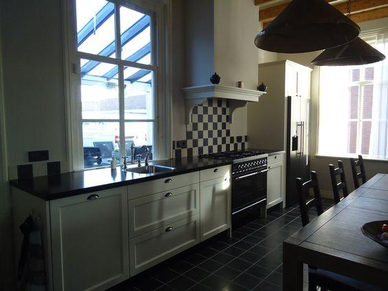 Amerikaanse Keuken Apparatuur : apparatuur van Atag. Amerikaanse store koelkast van Atag. #Granieten #