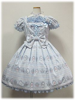 Angelic Pretty » One Piece » Royal Poodle OP