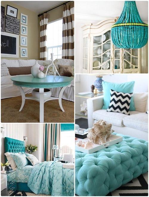 I am loving turquoise!
