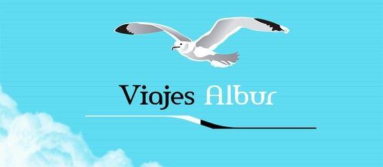 """Logotipo """"ViajesAlbur"""""""
