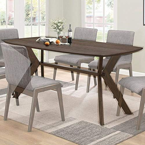 Wood Edge Profile Dining Table Dining Table With Curved Ends