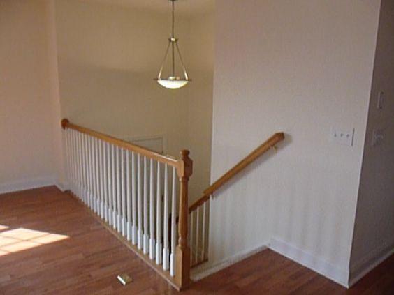 Split Foyer Stair Railing : Split foyer interior like light fixture and railing