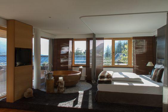 Adlerhorst Suite im Hubertus Alpin Lodge & Spa Hotel