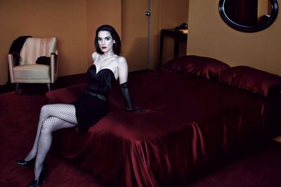 winona ryder / interview magazine may-2013